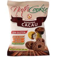 Rosquinhas NutriCookie de Cacau Sem Gluten 120g - NutriPleno