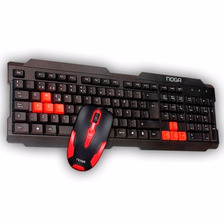 Kit Teclado Y Mouse 1000 Dpi Gamer Nkb-300 Noga
