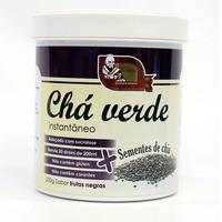 Cha Verde com Chia e Frutas Negras - 200g - Mosteiro Devakan
