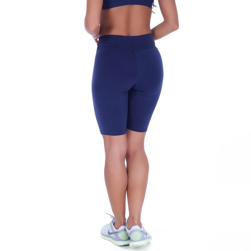 Bermuda Summer Soul Fitness Azul Marinho