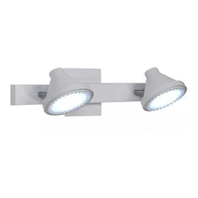 Aplique 2 Luces Spot Movil Conico Ar111 P/ Led Moderno Oslo