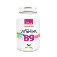 Vitamina B9 - Acido Folico - 60 Compr. - 240mcg Vital Natus