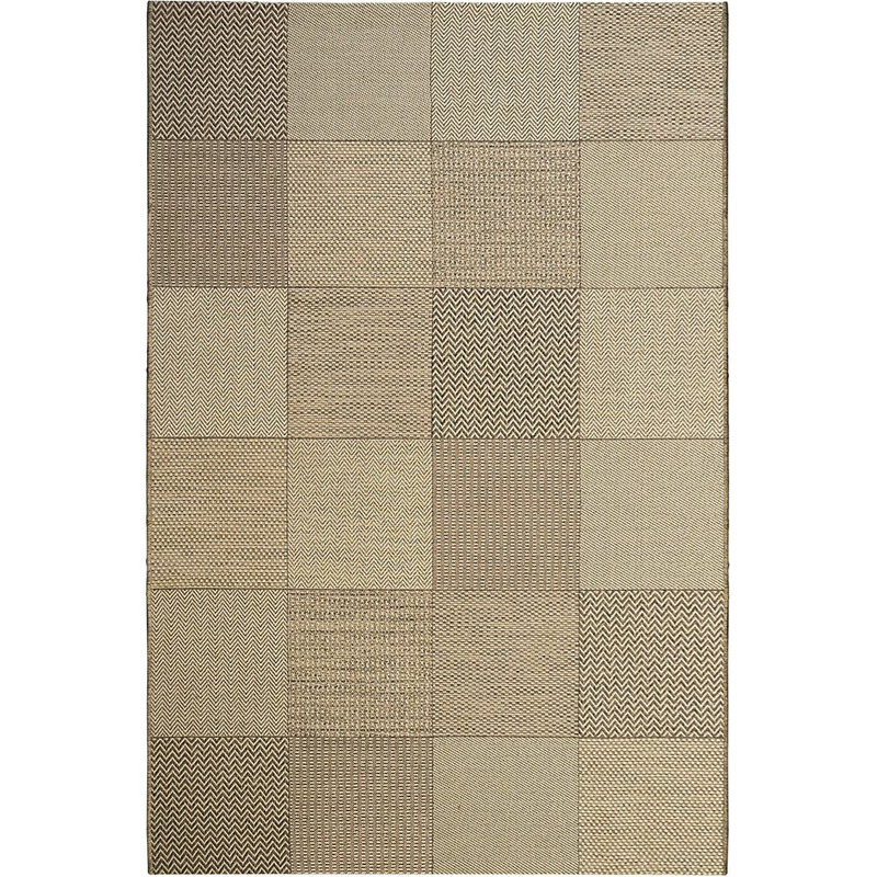 Tapete Sisal New Boucle Patchwork 85/70 2,00X3,00- Tapetes São Carlos