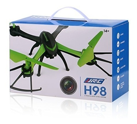 Drone Con Camara Hd 720p Video Vivo Bateria Litio H98 Jjrc