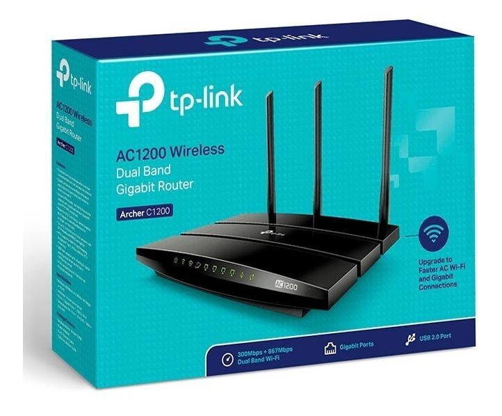 Router Wifi Tp-link Archer C1200 Dual Band Ac1200 Gigabit