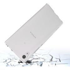 Funda Rigida Transparente Sony Xa1 Plus Antigolpe + Templado