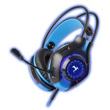 Auricular Gamer 7.1 Con Microfono Led Azul Conexion Usb Ps4