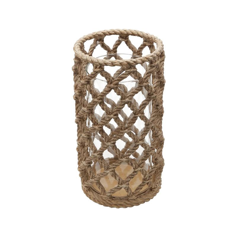 Lanterna De Poliresina Corda com Vidro 7,25 31025387