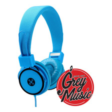Auriculares Moki Acc Hphyb Hyper Headphone - Blue