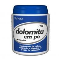 Dolomita em Po - Calcio e Magnesio - 170g - Vital Natus