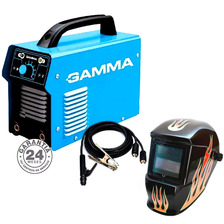 Soldadora Inverter Arc 200 Amp Gamma +máscara Fotosensible