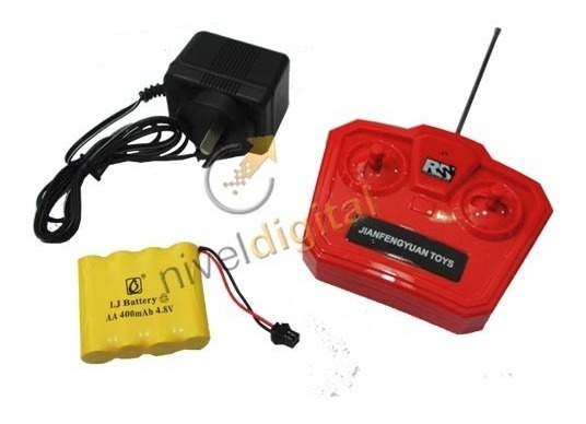 Auto Radio Control Mini John Cooper Works Replica Recargable