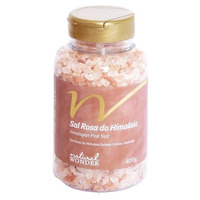 Sal Rosa do Himalaia Grosso Pote 400g - Natural Wonder