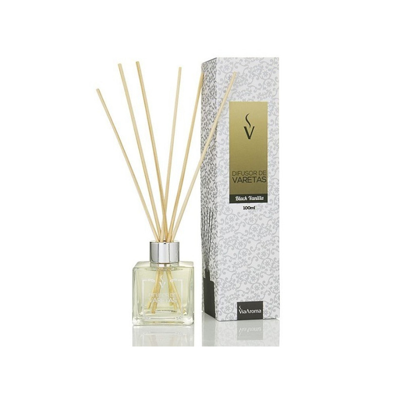 Stick Difusor de Black Vanilla - 100ml - Via Aroma