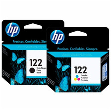 Cartuchos Hp 122 Combo Negro + Color Original P/ 2050 3050