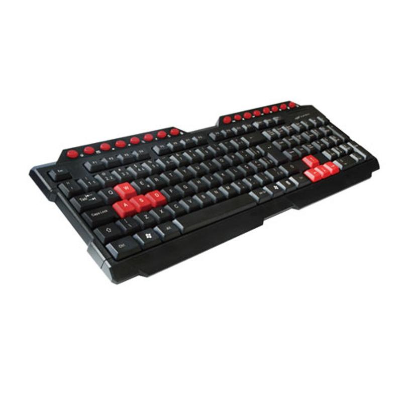 TECLADO GAME USB C3TECH KG-10BK PRETO