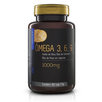 Triplo Omega (3, 6 e 9) - 60 Cápsulas - 1000mg - UpNutri