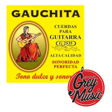 Encordado Martin Blust G2535 Para Guitarra Clásica Gauchita