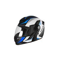 Capacete Mixs Gladiator Neo Preto Fosco Azul