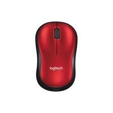 Mouse Logitech Wireless M185 Rojo