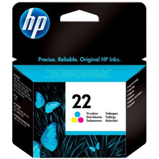 Cartucho Hp 22 Color Original P/ F380 F4180 F4140