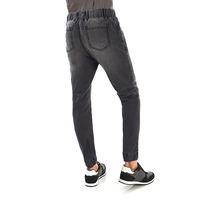 Pantalón gris resorte 014601