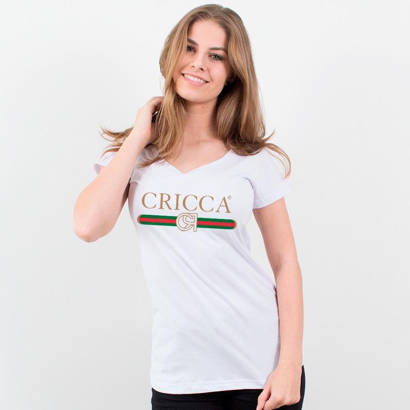 CAMISETA BRANCA - CRICCA