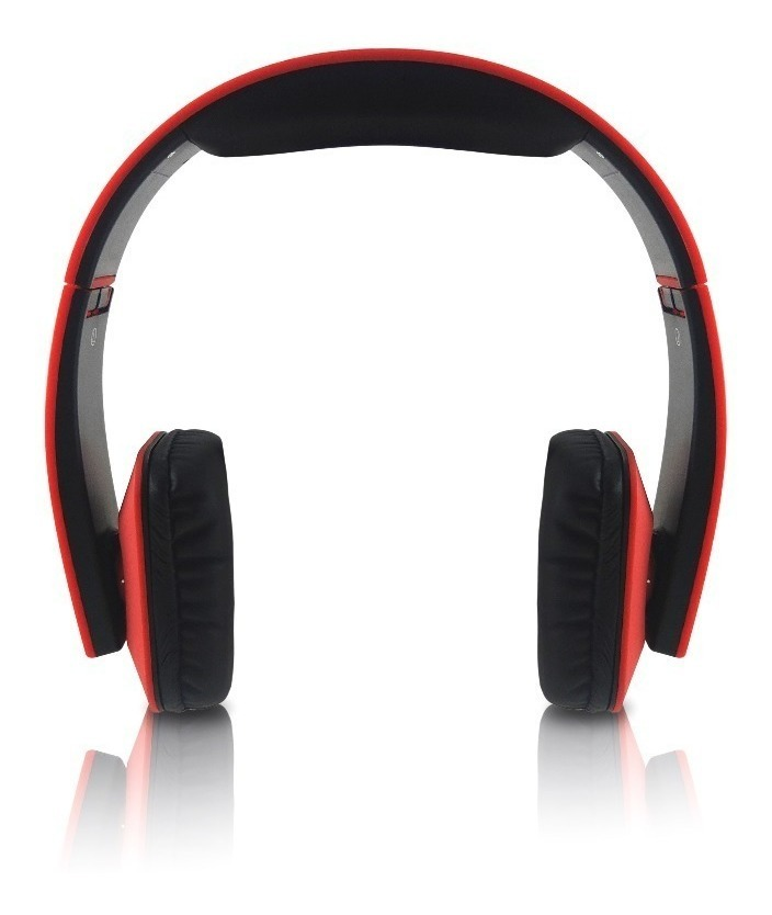 Auricular Bluetooth Panacom Bl1354 Vincha Plegable Naranja