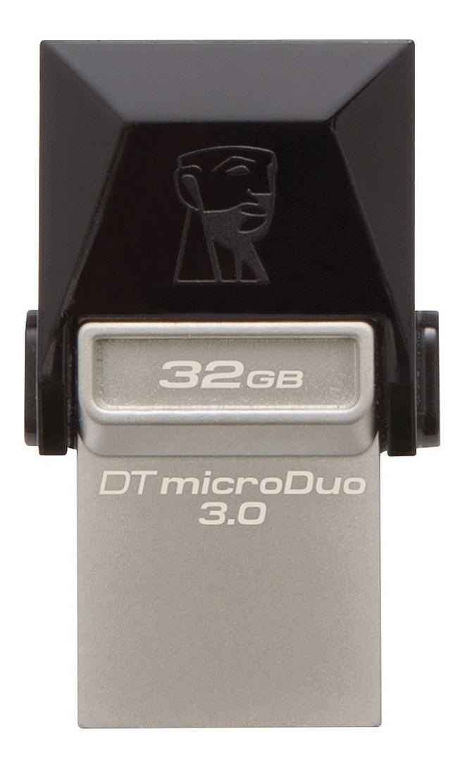 Pendrive Dual 32gb Kingston Dtduo3 Usb 3.1 Microusb Celular