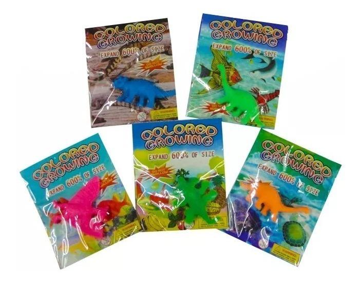 Dinosaurios De Esponjas Expandibles En Agua Varios Modelos