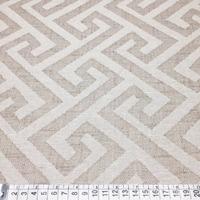 Tecido para estofado linho labirinto rústico  Linen 07