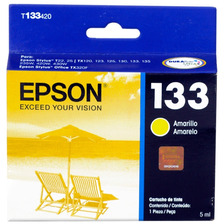 Cartucho Epson 133 Amarillo Original T133420 Powerzon