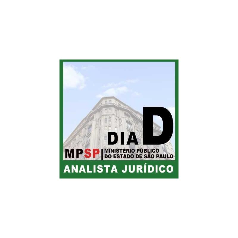 DIA D Analista Jurídico MP SP 2018 Online