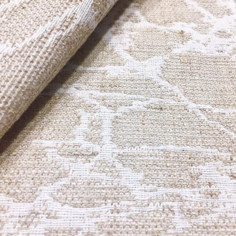 Tecido para estofado linho estampado rústico Linen 16