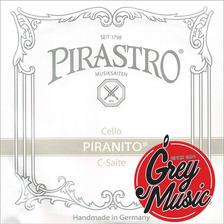 Cuerda Suelta Pirastro Piranito De Cello 635400 4 En Do