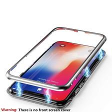 Funda Magnetica Metalica P/ Xiaomi Mi 8 Lite + Glass 5d
