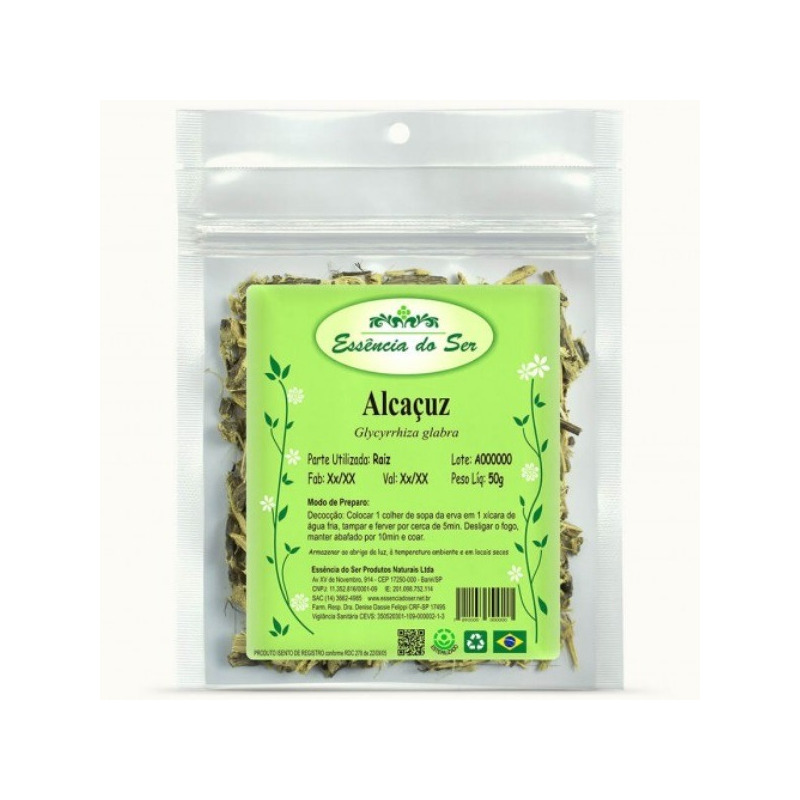 Cha de Alcacuz - Kit 2 x 50g - Essencia do Ser