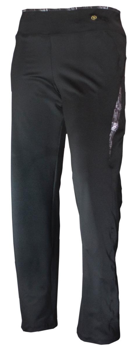 Pantalon Recto Con Bolsillo Cierre Con Sublimado (E)