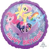 globo my little pony holograma 45cm desinflado apto helio