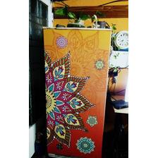 Vinilos Decorativos Mandalas Para Heladeras  Puertas Y Pared