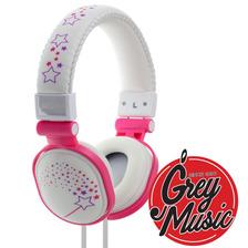 Auricular Moki Popper Microfono Pc Cel Tablet - Sparkles Wh