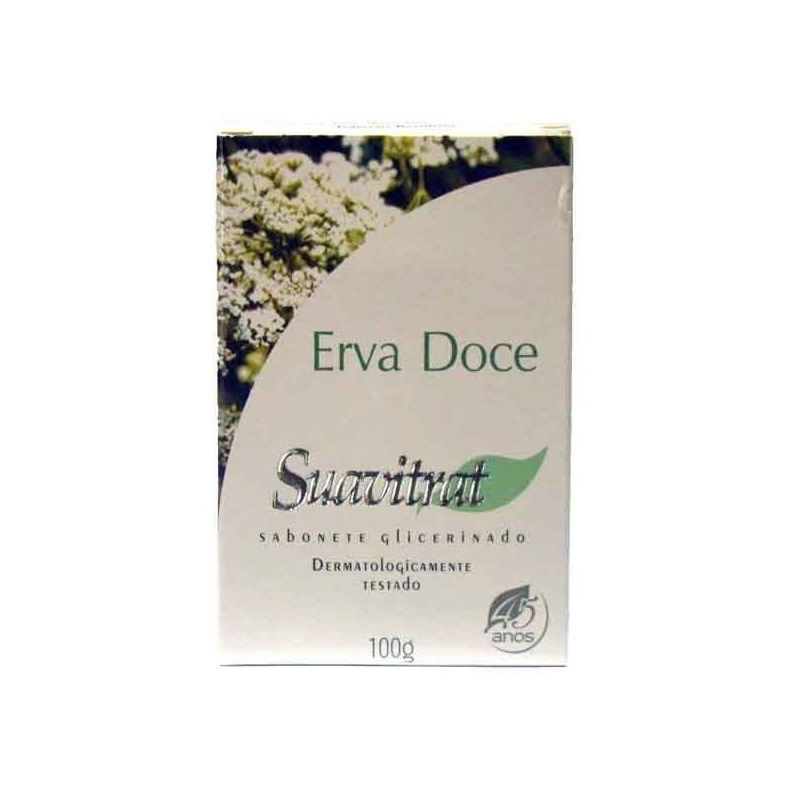 Sabonete Suavitrat - Erva Doce - 100g - Valtex
