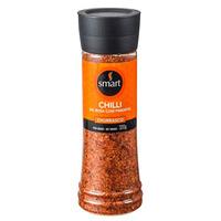 Sal Rosa com Pimenta Chilli para Churrascos - 320g - Smart