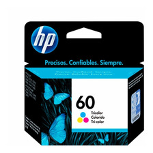 Cartucho Hp 60 Color Original P/ F4280 F4480