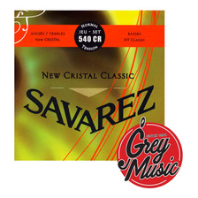 Encordado Savarez Guitarra Clásica 540 Cr Normal New Cristal