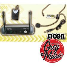 Microfono Inalambrico Vhf Vincha Moon Mi01vh  - Grey Music-