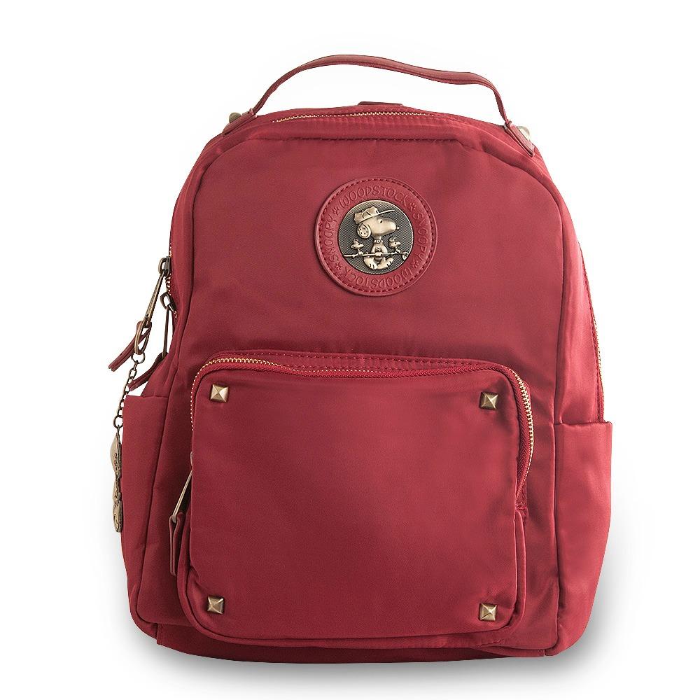 3251b7134 Bolsa Tipo Mochila Antifurto Be Fancy Snoopy SP6804 Vermelha | boaloja