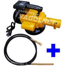 Vibrador Hormigon Electrico Monofasico 3hp + Sonda 6mts Niwa
