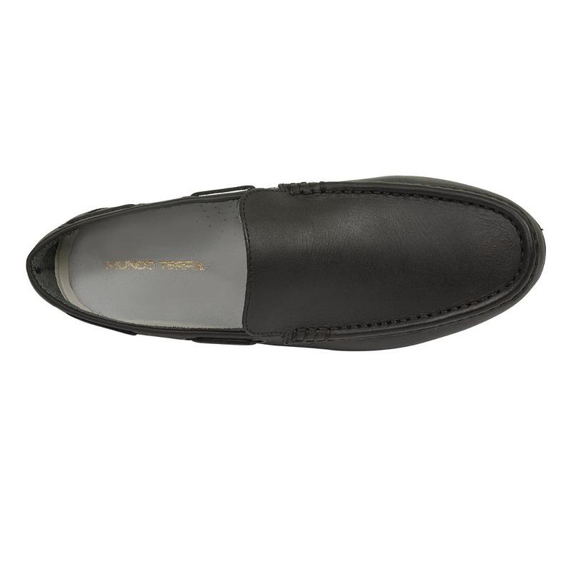 Mocasín negro piel 018752