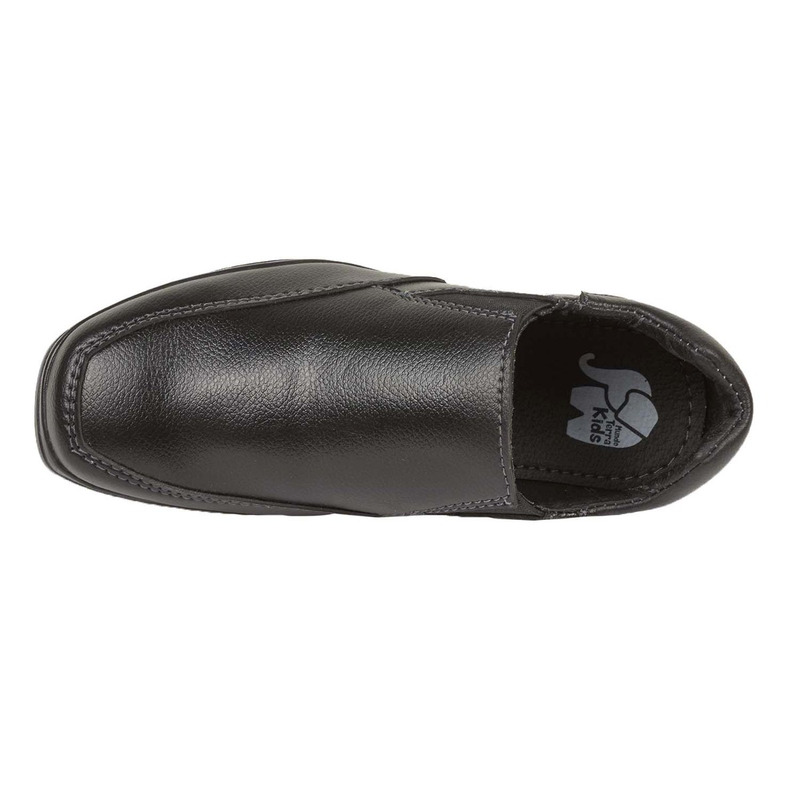 Mocasín negro piel 018801